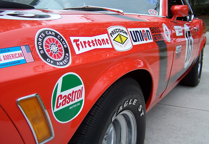 Kits include all decals to make a boss 302 replica available in many materials
