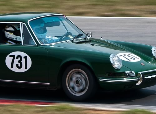 Le Mans Classic Font Third Oval Shown On Hood Of This Porsche